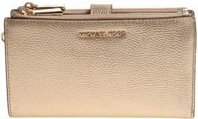 MICHAEL Michael Kors Laminated Leather Wallet