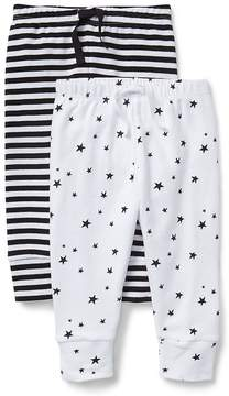 Gap Cuddle & Play Stripe Pull-On Pants (2-Pack)