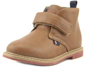 Tommy Hilfiger Michael Vel Youth Round Toe Synthetic Brown Chukka Boot.