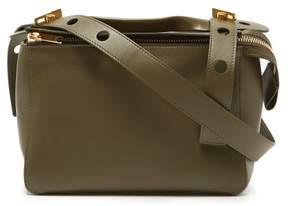 Sophie Hulme The Bolt Leather Shoulder Bag - Womens - Khaki