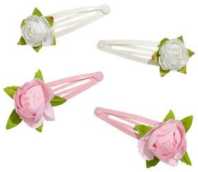H&M 4-pack hair clips - Pink
