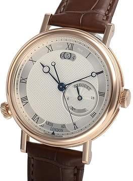 Breguet Classique Hora Mundi Silver Dial Automatic Men's Watch