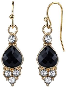 1928 Linear Teardrop Earrings