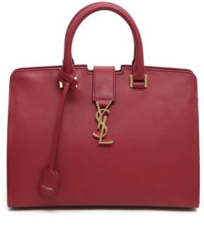 Saint Laurent Small Monogram Cabas Handbag - BORDEAUX - STYLE