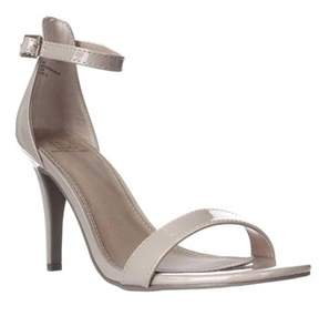 Material Girl Mg35 Blaire Ankle Strap Dress Sandals, Nude.