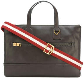 Bally zipped briefcase