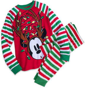 Disney Mickey Mouse Holiday PJ Set for Men