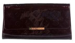 Louis Vuitton Vernis Robertson Clutch