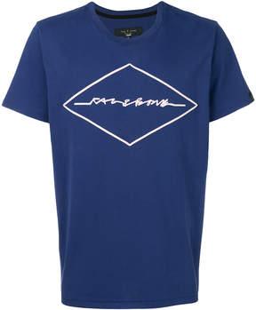 Rag & Bone signature print T-shirt