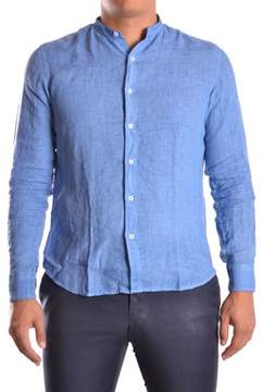 Altea Men's Blue Linen Shirt.