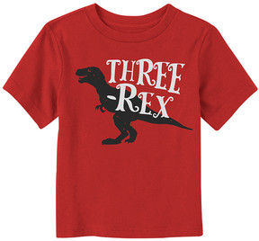 Fifth Sun Red 'Three-Rex' Tee - Toddler & Boys