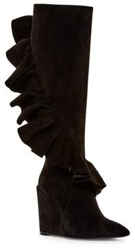 J.W.Anderson Ruffle Wedge Tall Boot