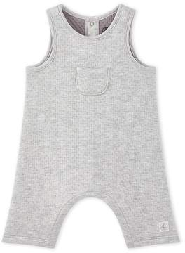 Petit Bateau BABY BOYS QUILTED TUBE KNIT OVERALL
