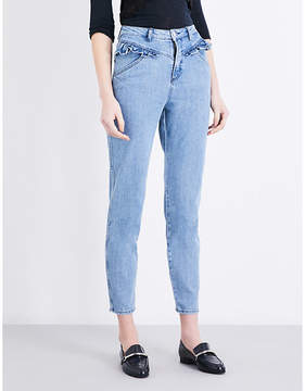 Claudie Pierlot Pulp high-rise skinny cropped jeans