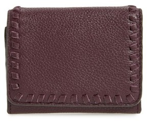Rebecca Minkoff Women's Mini Vanity Leather Wallet - Red - RED - STYLE
