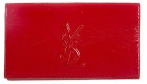 Saint Laurent Belle de Jour Clutch - RED - STYLE