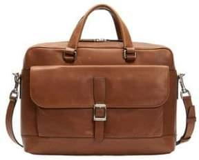 Frye Oliver Two-Handle Leather Messenger Bag