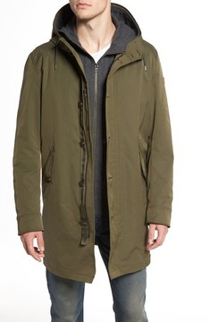 BOSS ORANGE Men's Odrax 3-In-1 Water Repellent Parka