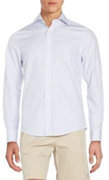 Gant Fitted Pinstripe Cotton Sportshirt