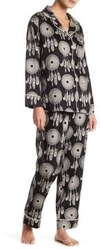 BedHead Long Sleeve Dream Catcher 2-Piece Pajama Set