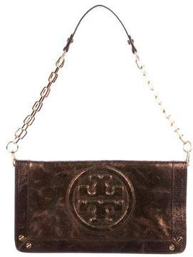Tory Burch Ponyhair Chain-Link Shoulder Bag - BROWN - STYLE