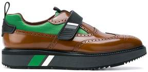 Prada platform brogue sneakers