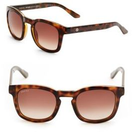 Gucci 48MM Wayfarer Sunglasses
