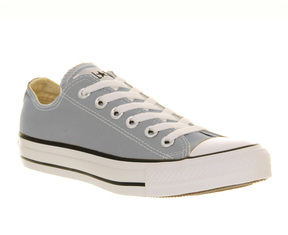 Marie Chantal Girls Converse All Star - Grey/Violet