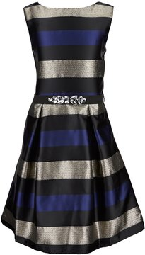 I.N. Girl Big Girls 7-16 Striped Taffeta Dress