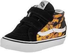 Vans Toddlers Sk8-mid Reissue V (digi Flame) Skate Shoe.