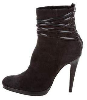 Barbara Bui Stefania Suede Ankle Boots