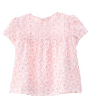 Chicco Girls' White & Pink T-Shirt