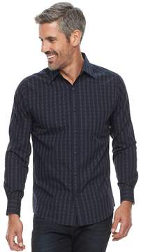 Haggar Men's Classic-Fit Button-Down Shirt