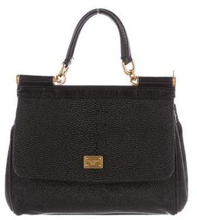 Dolce & Gabbana Stingray Miss Sicily Bag - BLACK - STYLE