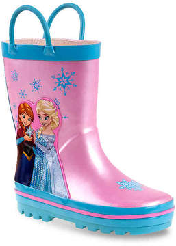 Disney Girls Frozen Toddler Rainboot