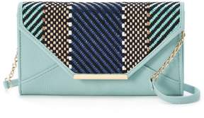 Apt. 9 Chelsea Chevron RFID-Blocking Envelope Crossbody Wallet
