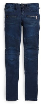 Hudson Girl's French Terry Moto Jeans