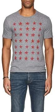 John Varvatos Men's Star-Print Slub Jersey T-Shirt