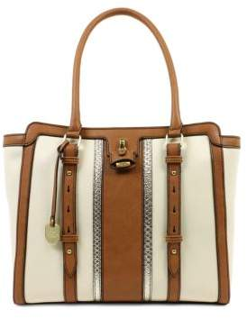 London Fog Lancaster Vegan Leather Tote