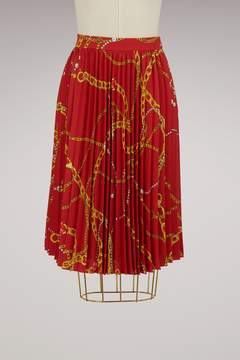 Balenciaga Bijoux pleated skirt