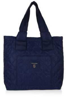 Marc Jacobs Nylon Knot Tote - MIDNIGHT BLUE - STYLE