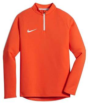 Nike Youth Unisex (7-18) Drill Top Academy Soccer Top-Neon Orange-XL