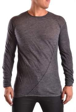 Isabel Benenato Men's Grey Wool T-shirt.