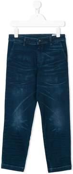 Diesel crease effect slim jeans