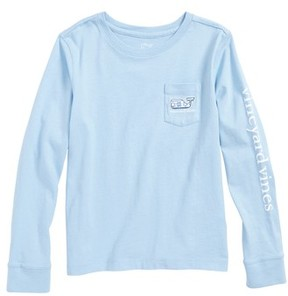 Vineyard Vines Toddler Girl's Happy Hanukkah 2017 Fair Isle Print Tee