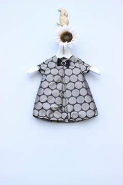 Luli & Me Silver Dot Dress