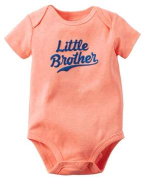 Carter's Baby Clothing Outfit Boys Neon Little Brother Bodysuit