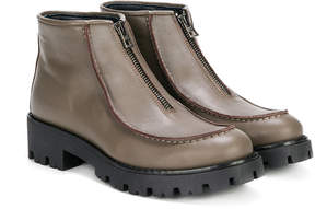 Marni zipped slip-on ankle boots