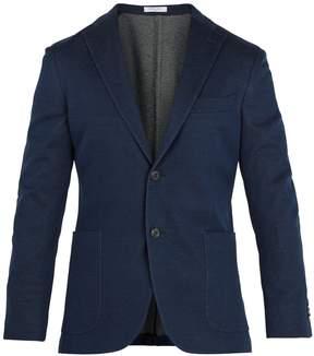 Boglioli Single-breasted cotton blazer