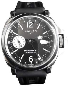 Panerai Luminor GMT PAM 88 Stainless Steel Automatic Mens 44mm Watch